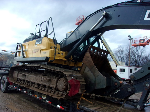 2017 Deere 210G LC Excavators and Mini Excavator