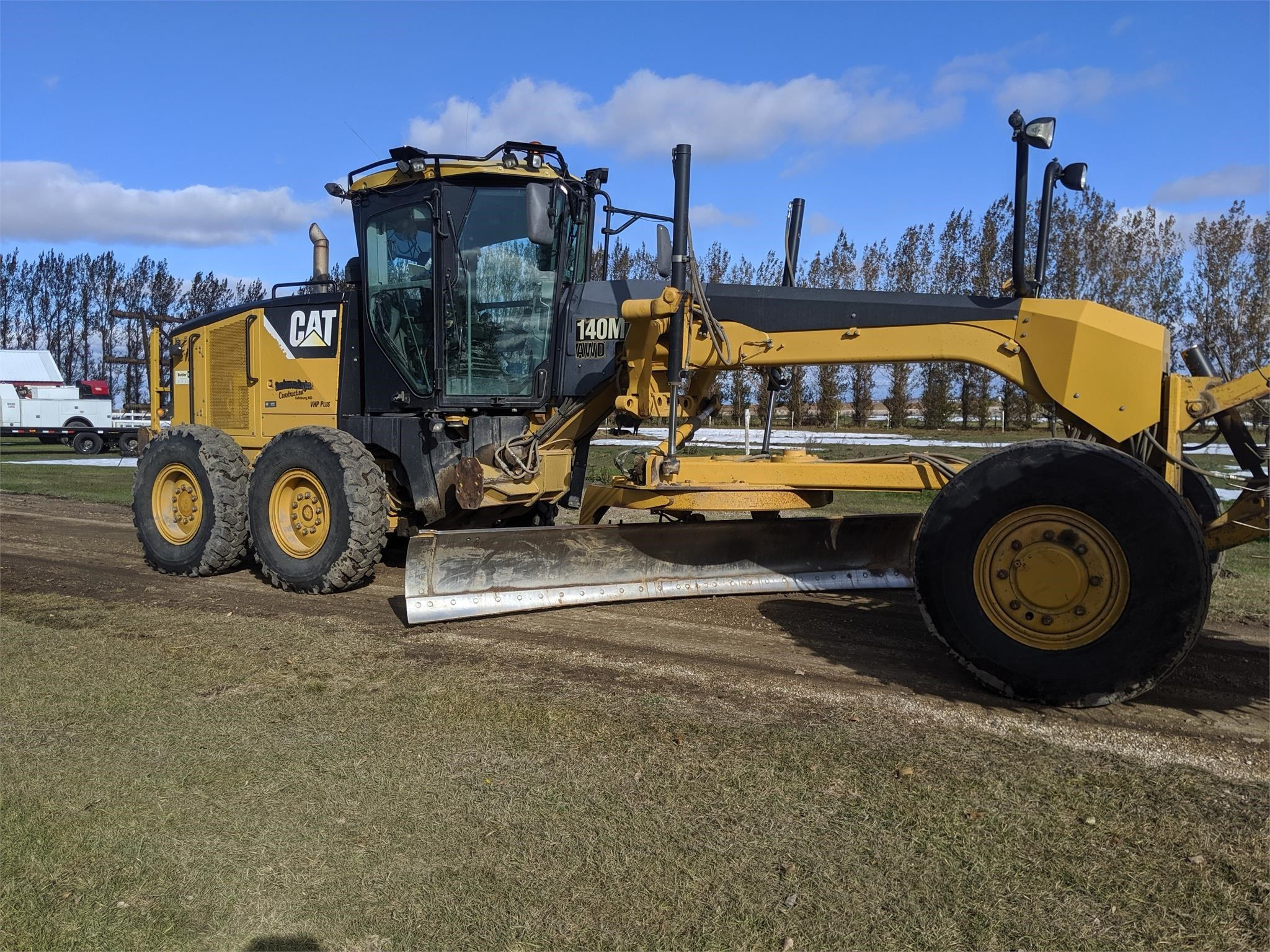 2009 Caterpillar 140M AWD VHP Plus Scraper