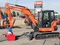 2020 Kubota KX057 Excavators and Mini Excavator