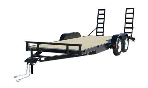 2020 Carry-On 7X20APDTFR2BRK Flatbed Trailer