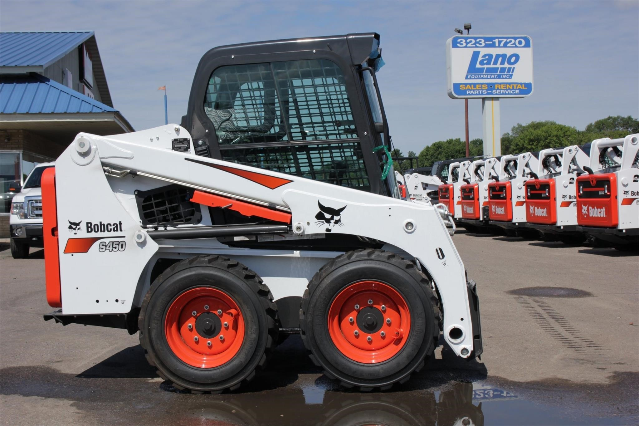 2020 Bobcat S450 Skid Steer