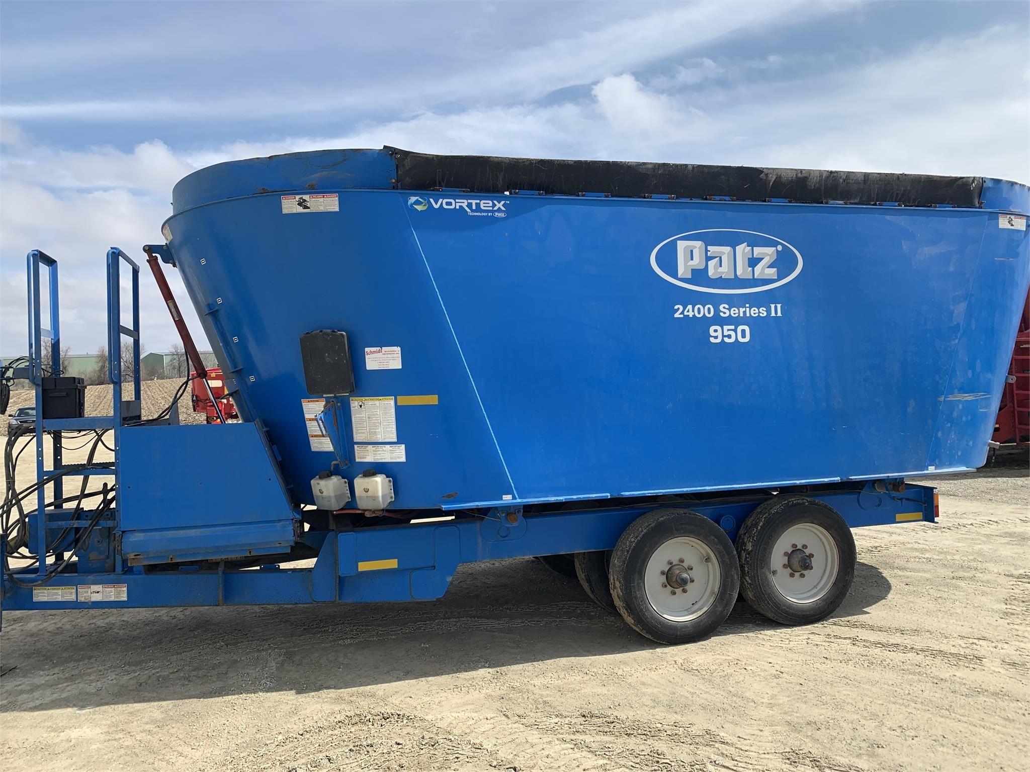 Patz 950 Grinders and Mixer