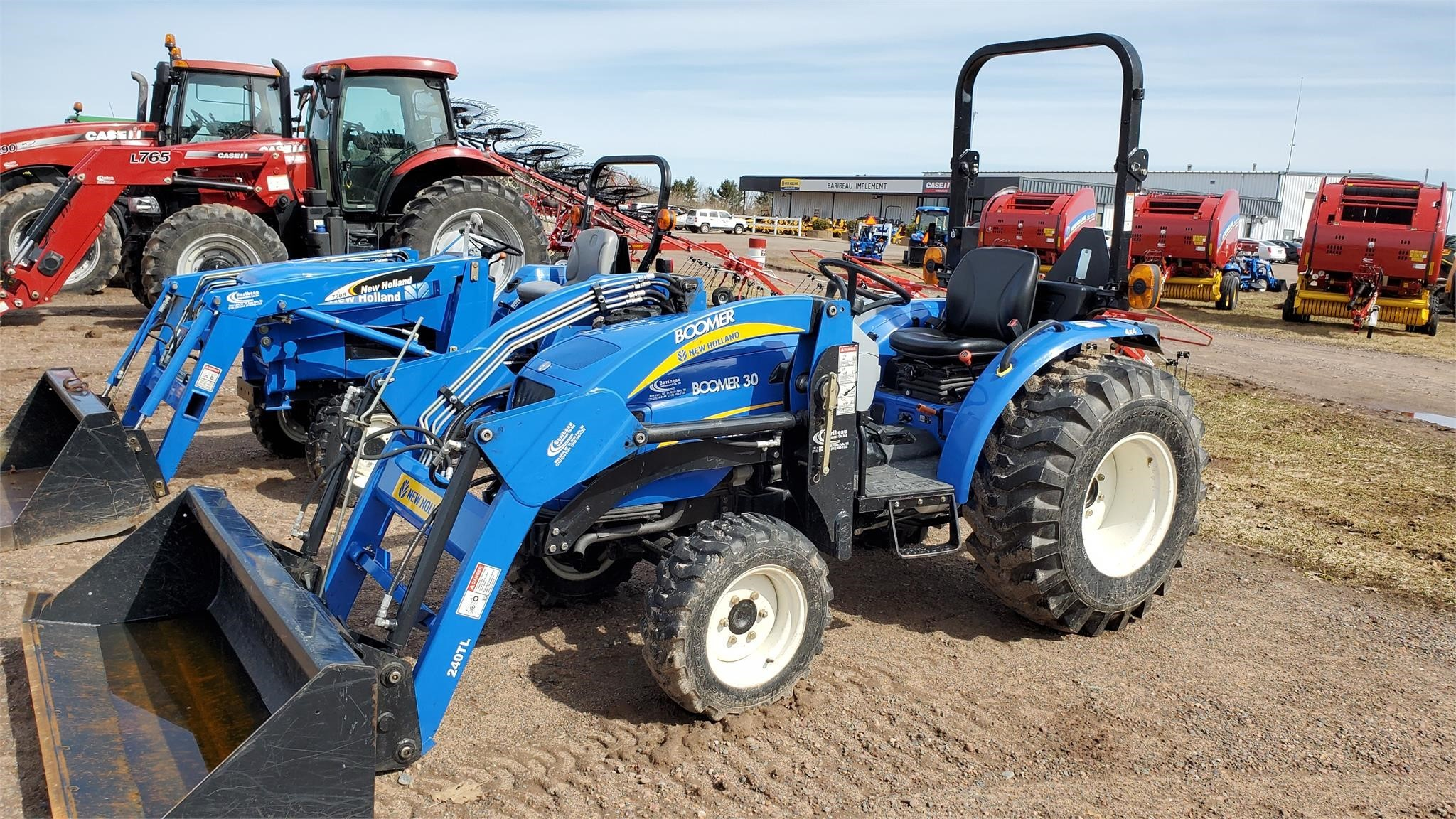 2012 New Holland Boomer 30 Tractor