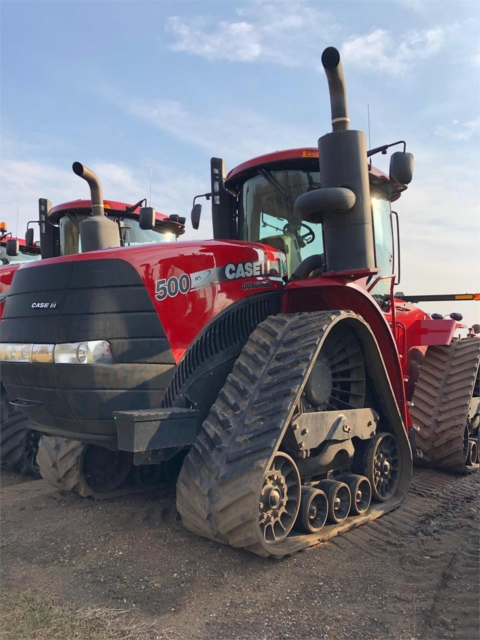 2014 Case IH Steiger 500 RowTrac Tractor