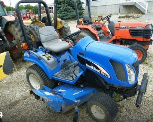 New Holland TZ22DA Tractor