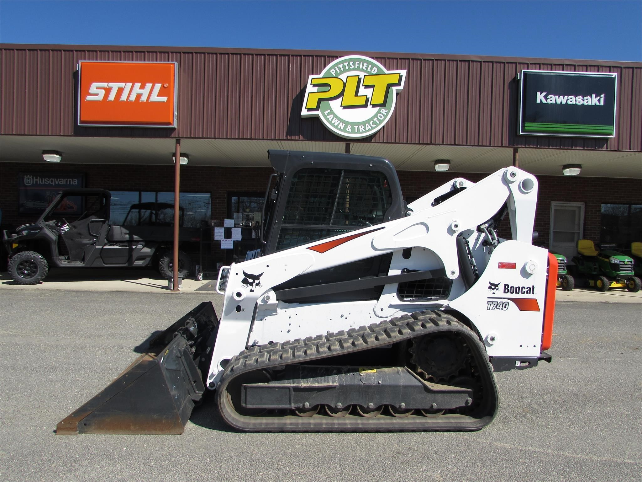 2019 Bobcat T740 Skid Steer