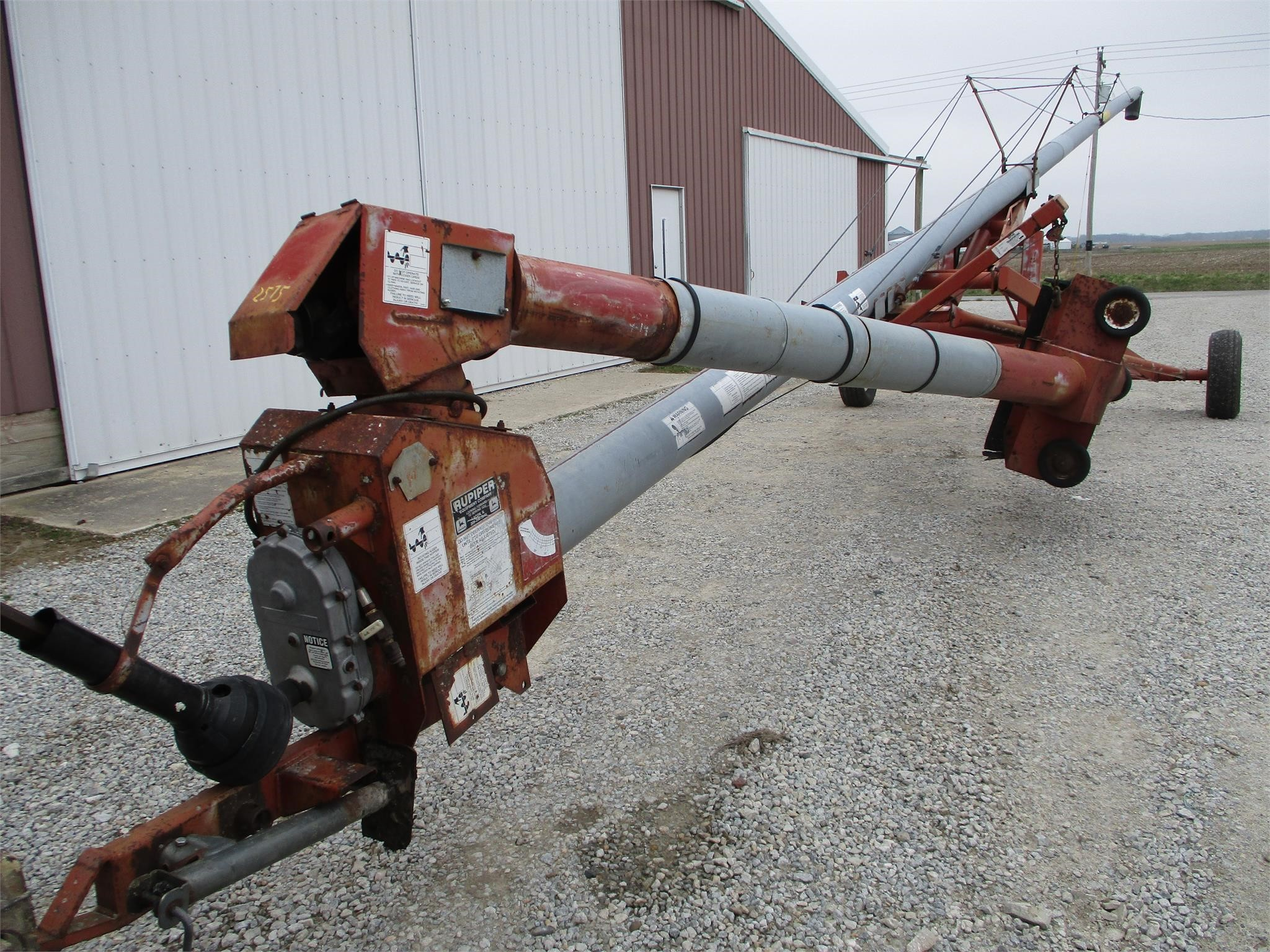 Mayrath 8x60 Augers and Conveyor