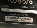 1999 Kubota F2880E Lawn and Garden