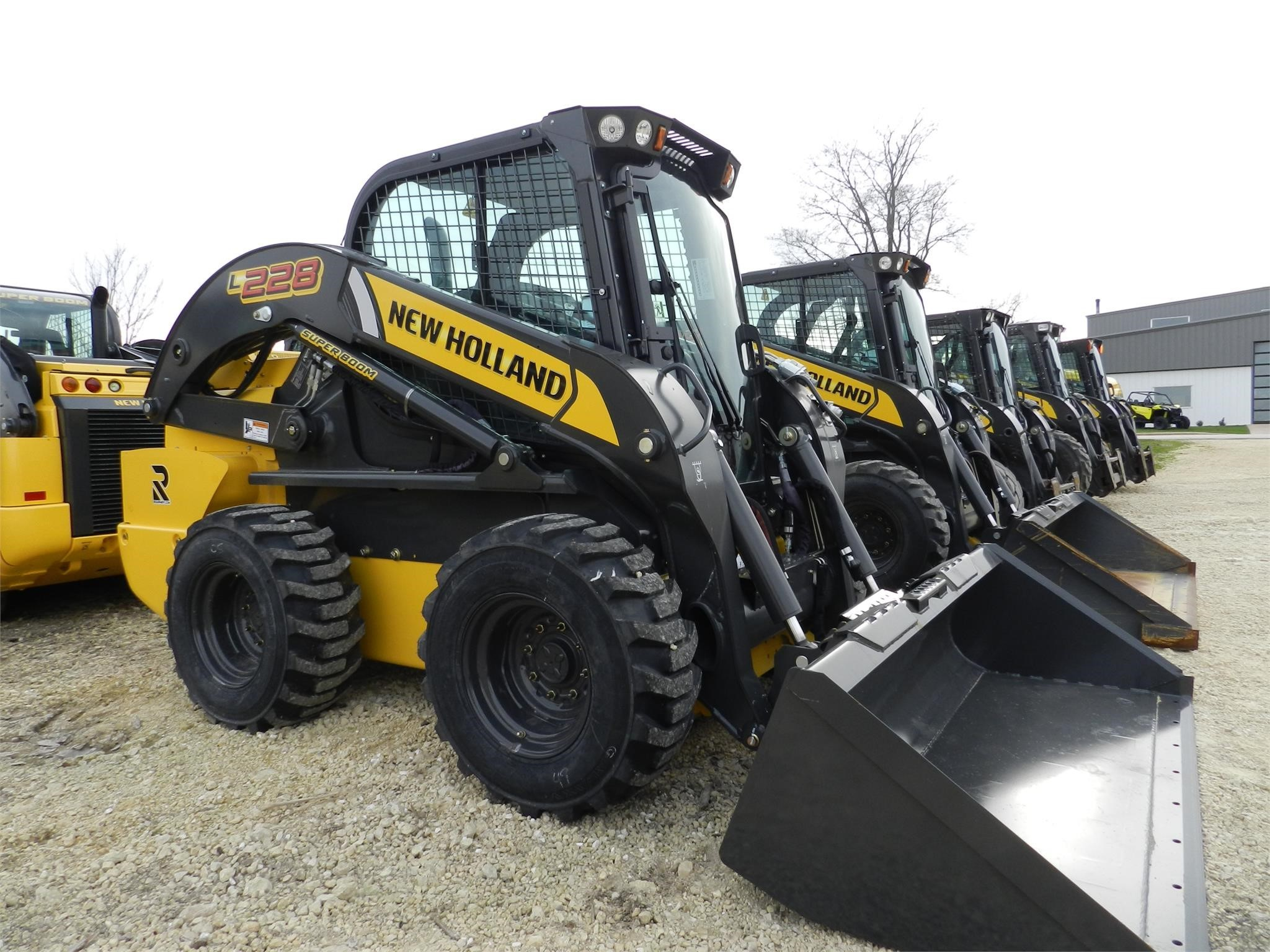 2019 New Holland L228 Skid Steer