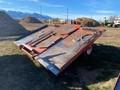 Hesston 4920 Bale Wagons and Trailer
