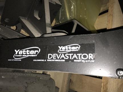 2019 Yetter Devastator Harvesting Attachment