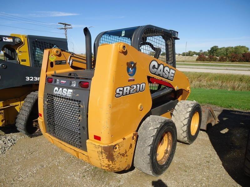 2016 Case SR210 Skid Steer