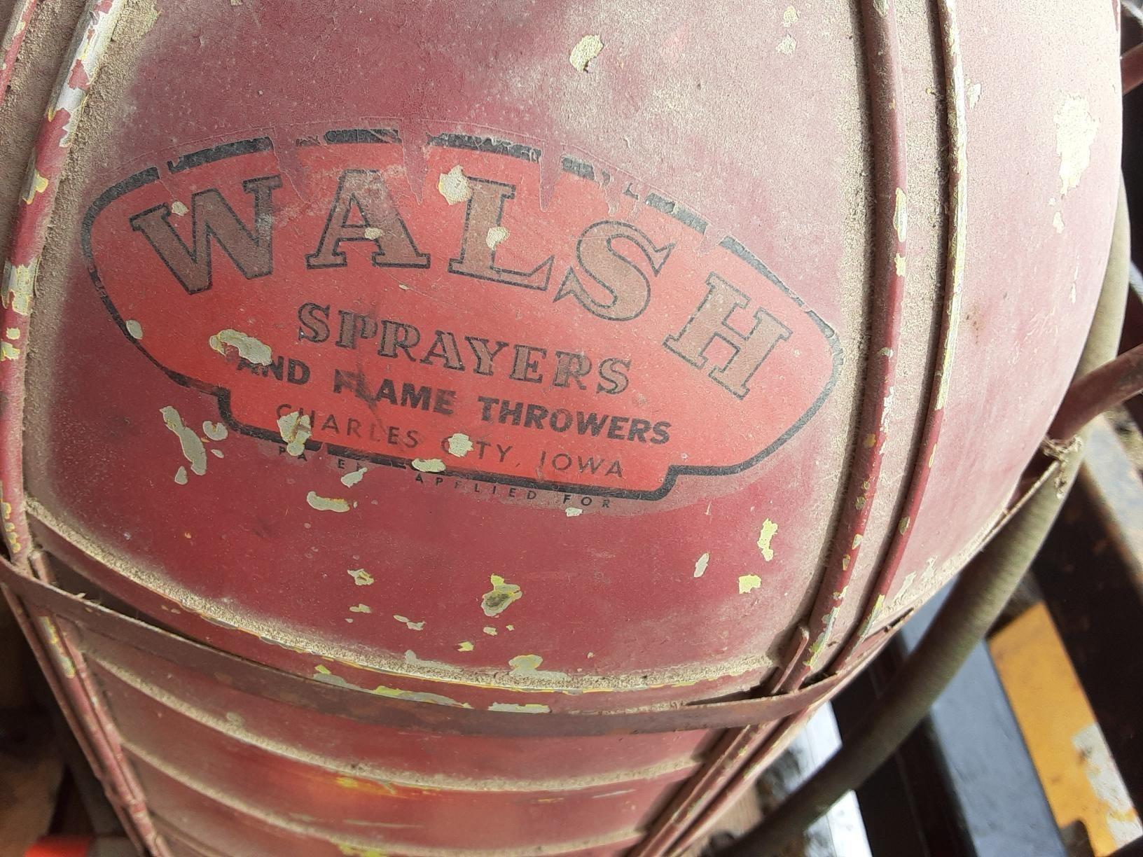 Walsh Sprayer Tank Tank