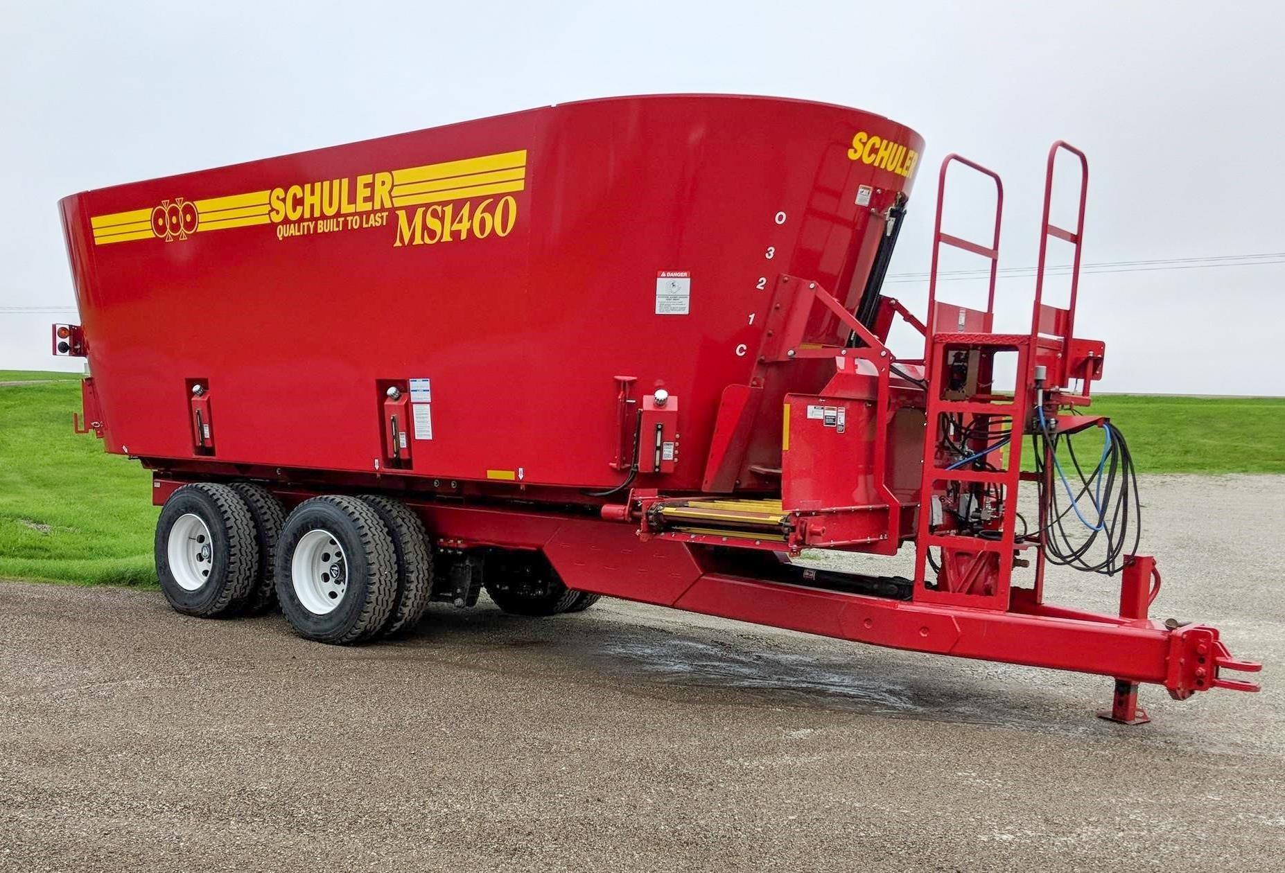 2020 Schuler MS1460 Feed Wagon