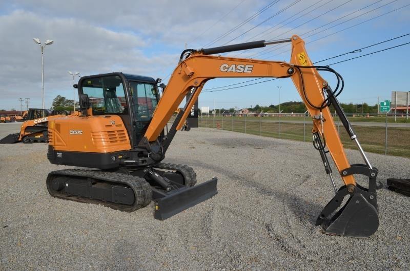 Case CX57C Excavators and Mini Excavator