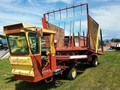 1973 New Holland 1049 Bale Wagons and Trailer
