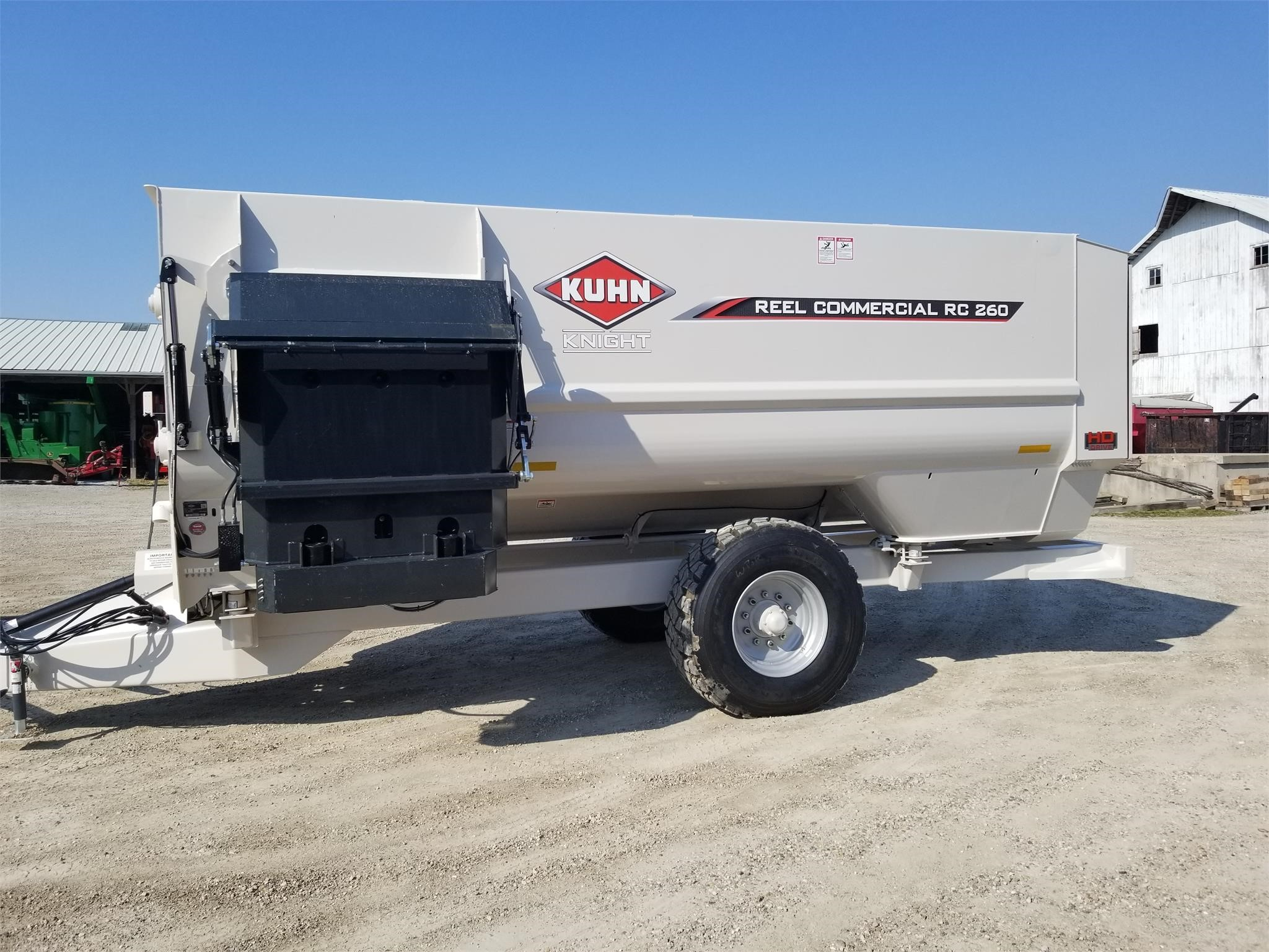 2021 Kuhn Knight RC260 Grinders and Mixer