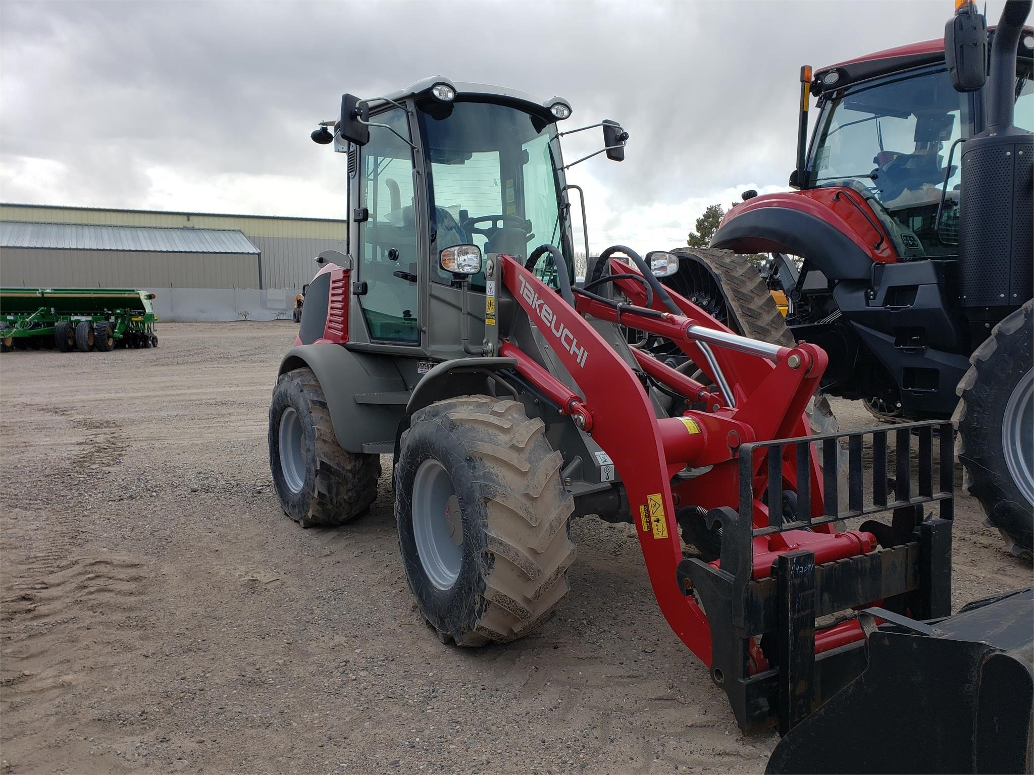 2016 Takeuchi Tw80 Wheel Loader