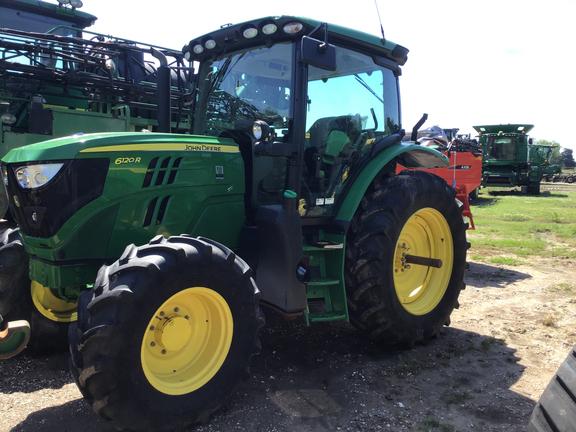 2018 John Deere 6120R Tractor