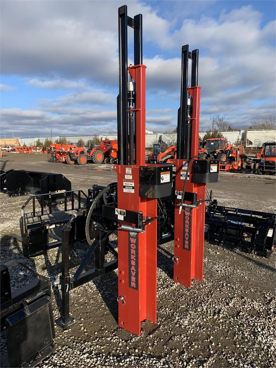 2018 Worksaver HPD22Q Post Hole Digger