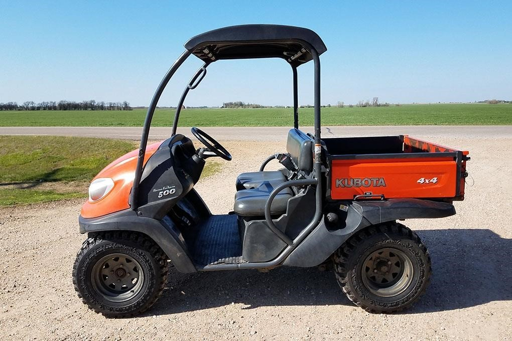 2011 Kubota RTV500 ATVs and Utility Vehicle