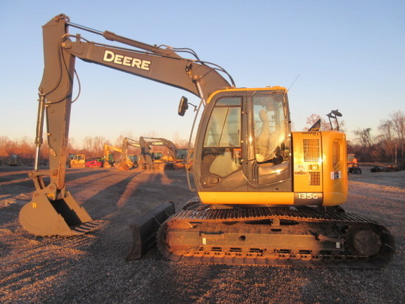2015 Deere 135G Excavators and Mini Excavator