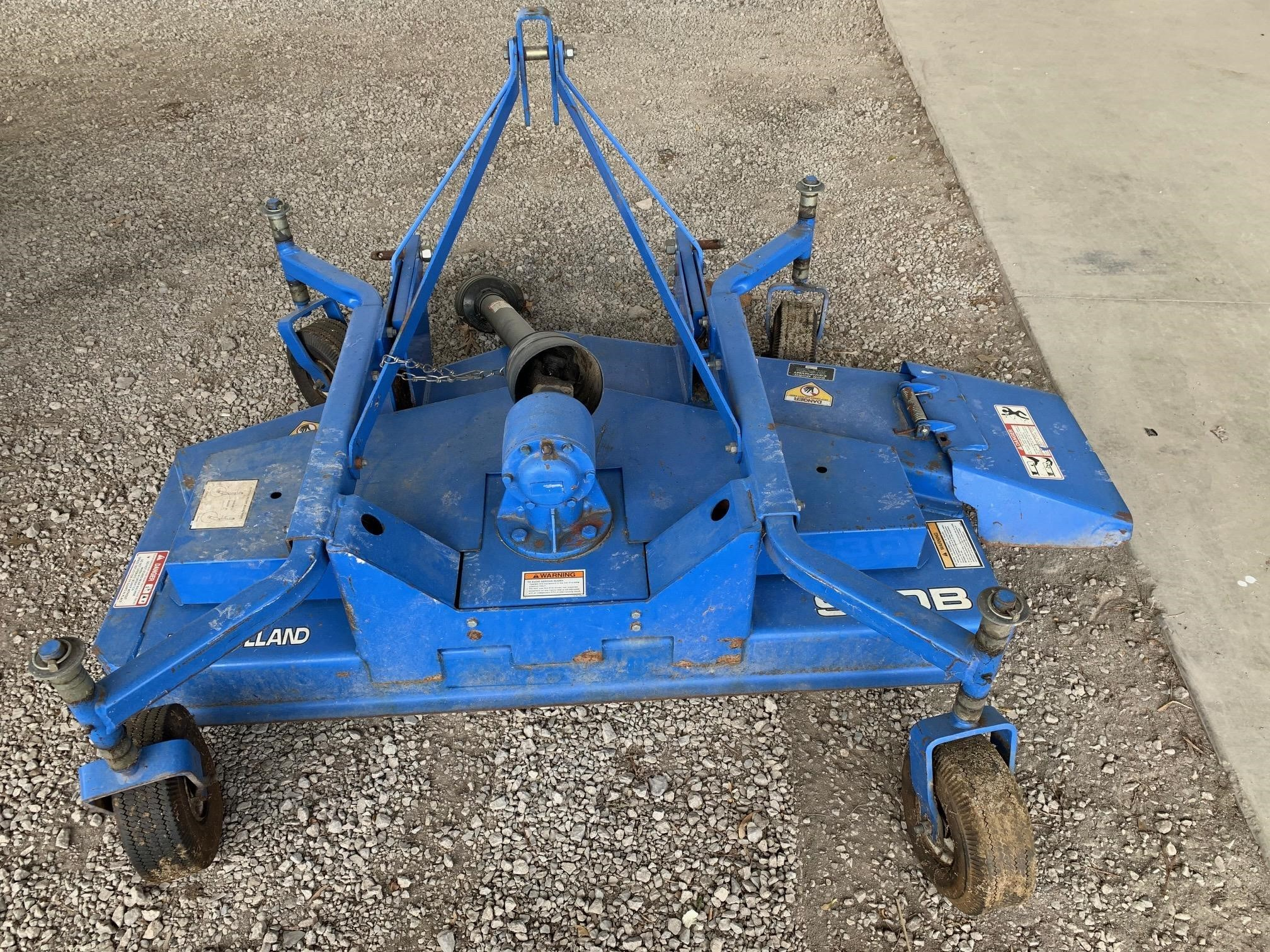 2007 New Holland 930B Rotary Cutter
