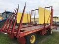 New Holland 1047 Bale Wagons and Trailer