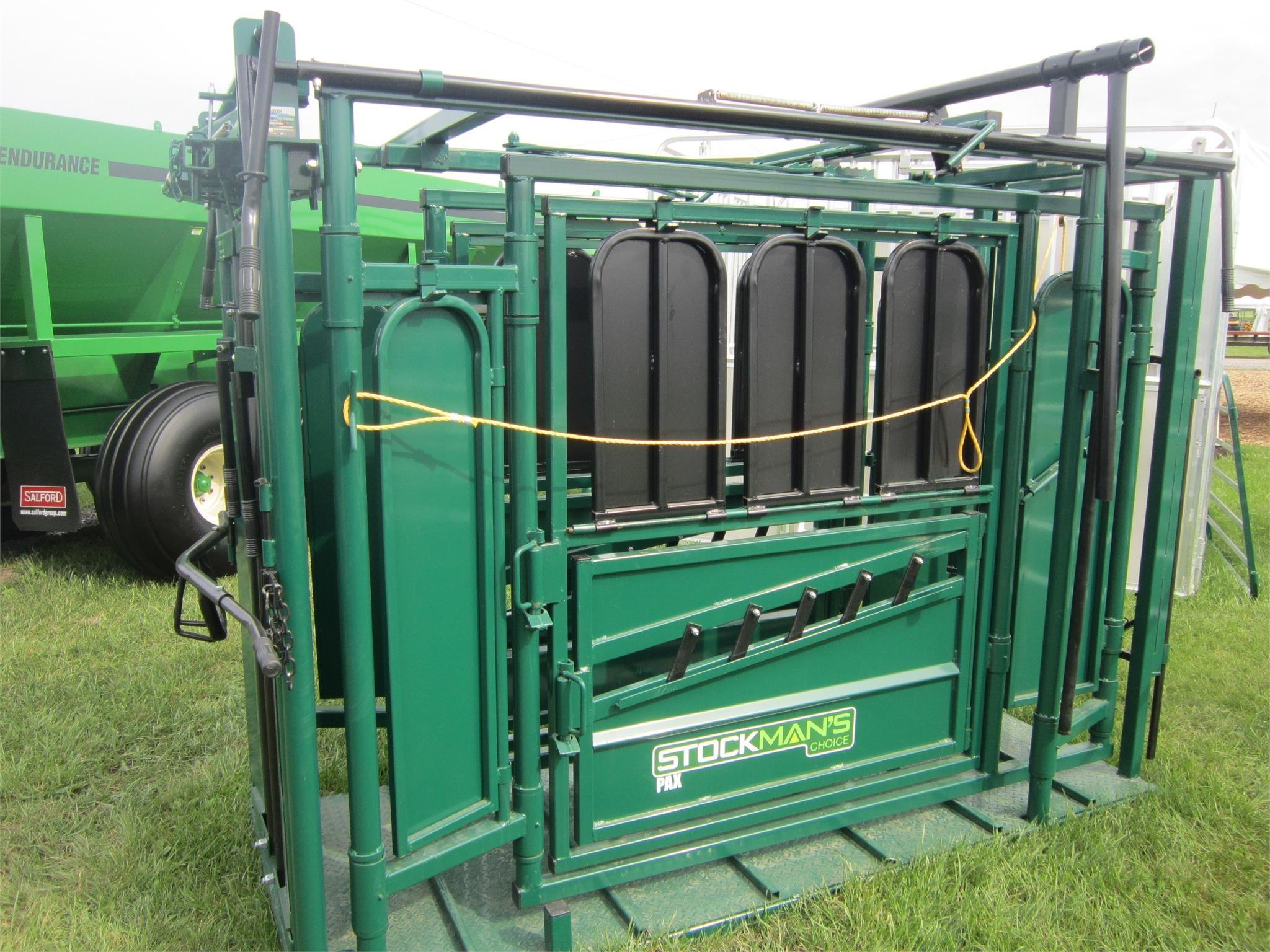 2021 Stockman's Choice PAX Cattle Equipment