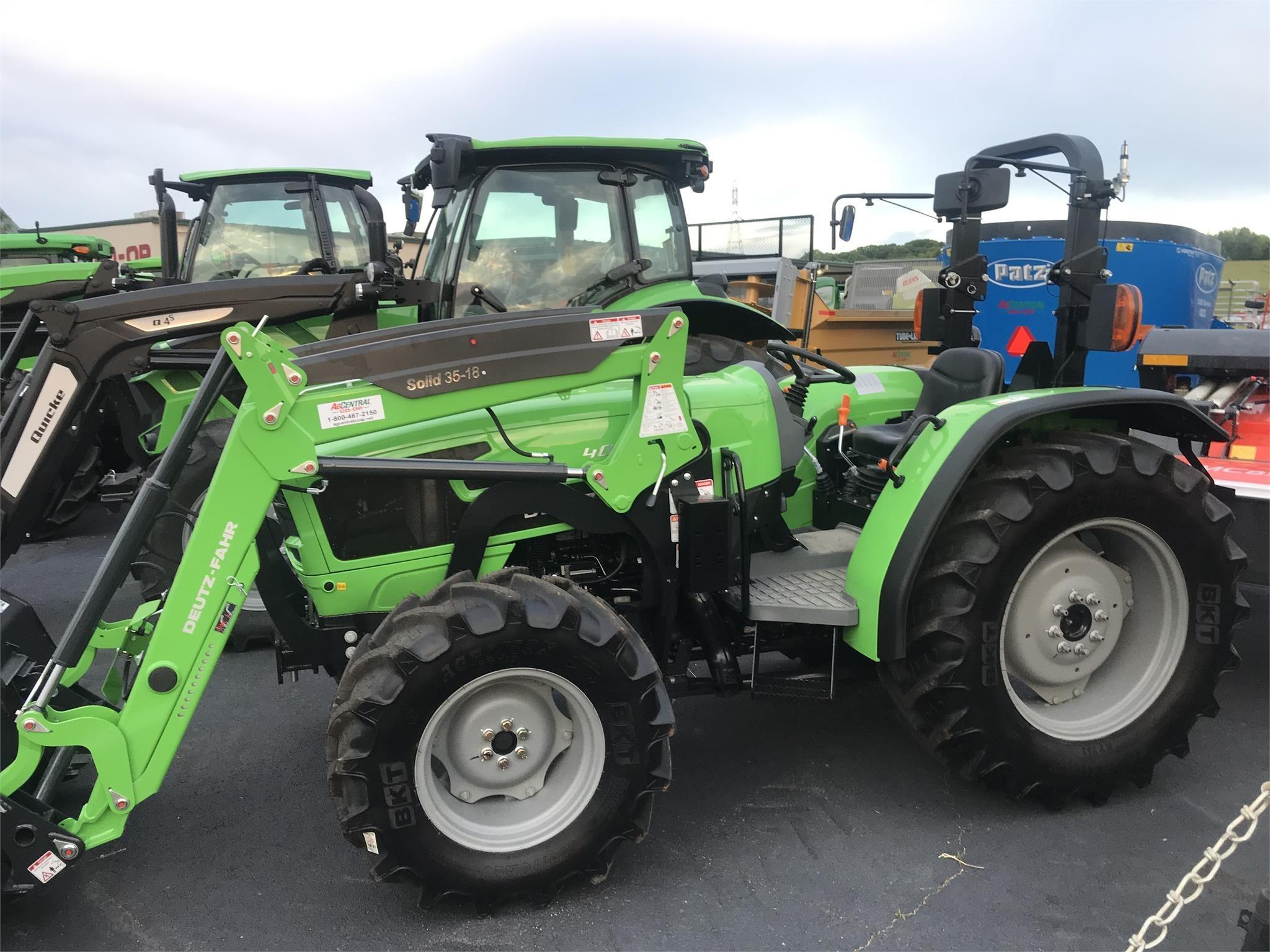 2020 Deutz Fahr 4080E Tractor