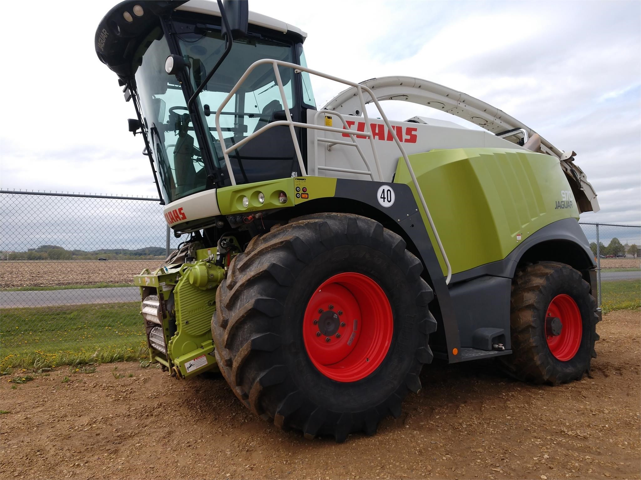 2015 Claas Jaguar 970 Self-Propelled Forage Harvester