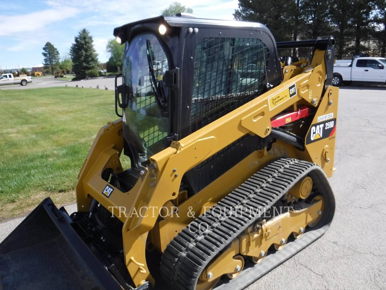 2019 Caterpillar 259D H2CB Skid Steer