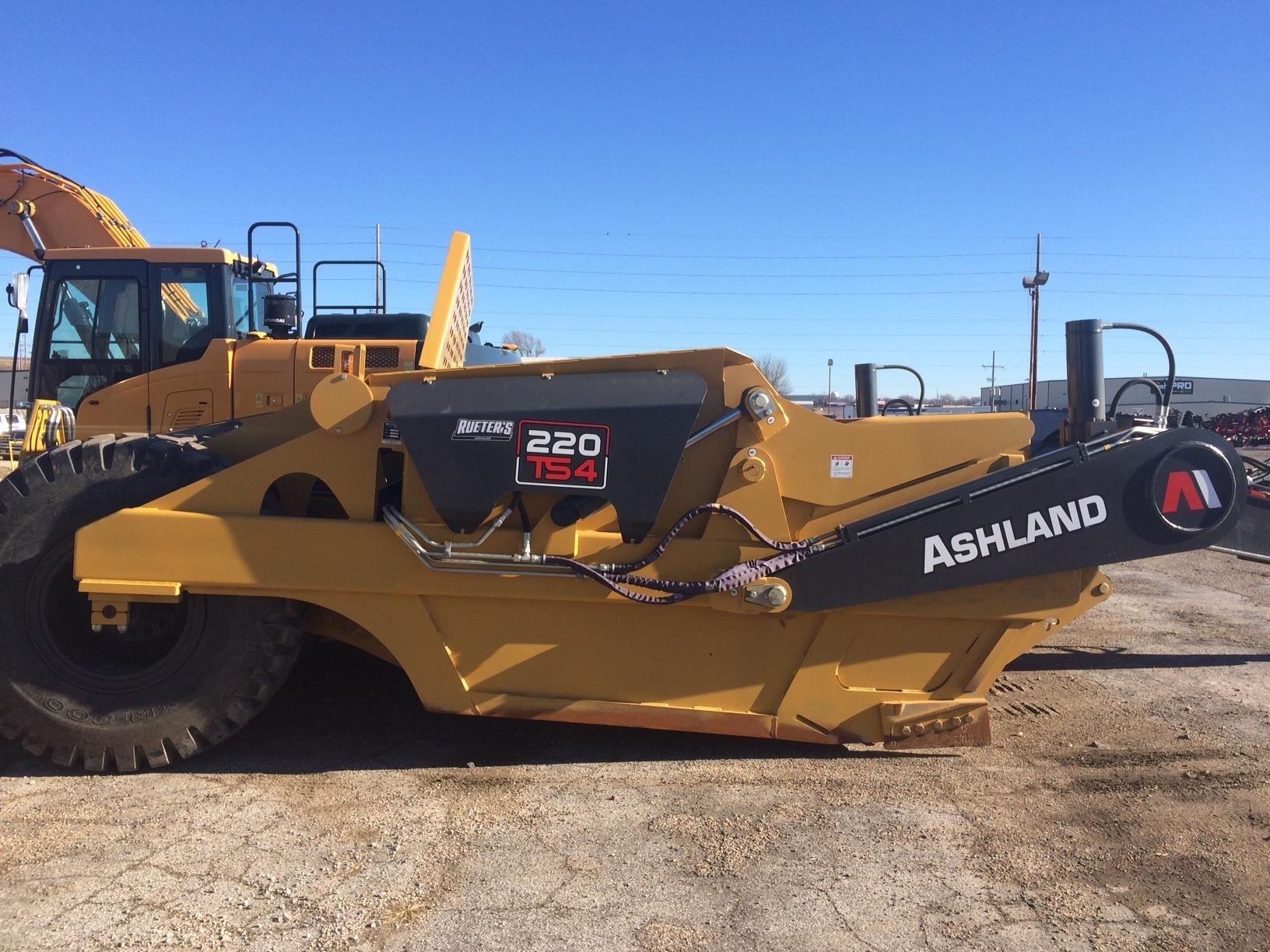 2018 Ashland 220TS4 Scraper