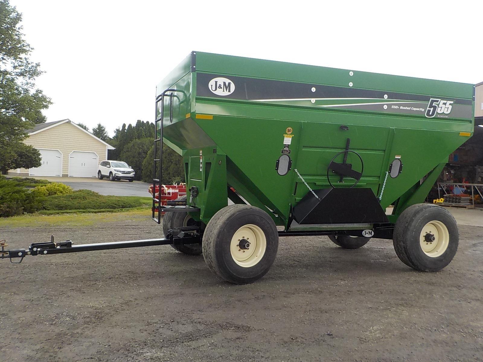2020 J&M 555SD Gravity Wagon
