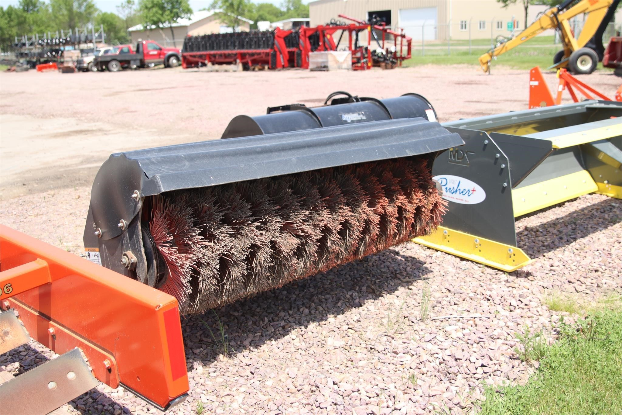 """2000 Bobcat 68"""" Angle Broom Loader and Skid Steer Attachment"""