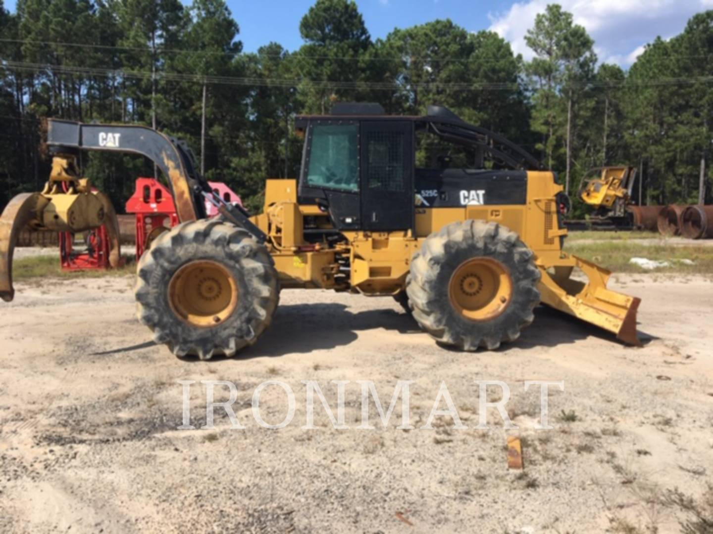 2008 Caterpillar 525C Forestry and Mining