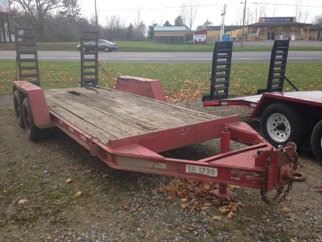 2010 Trail King TR1739 Flatbed Trailer