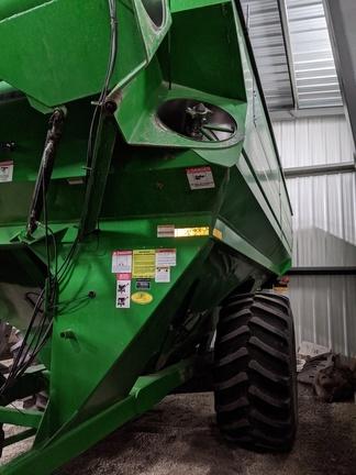 2012 J&M 1050-20S Grain Cart