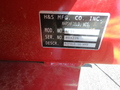 H & S BF16H Rake