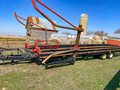 2015 Farm King 2450 Bale Wagons and Trailer