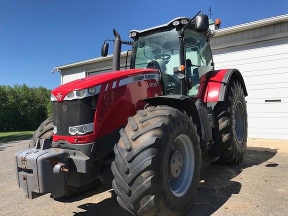 2010 Massey Ferguson 8670 Tractor