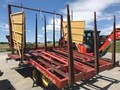 New Holland 1037 Bale Wagons and Trailer