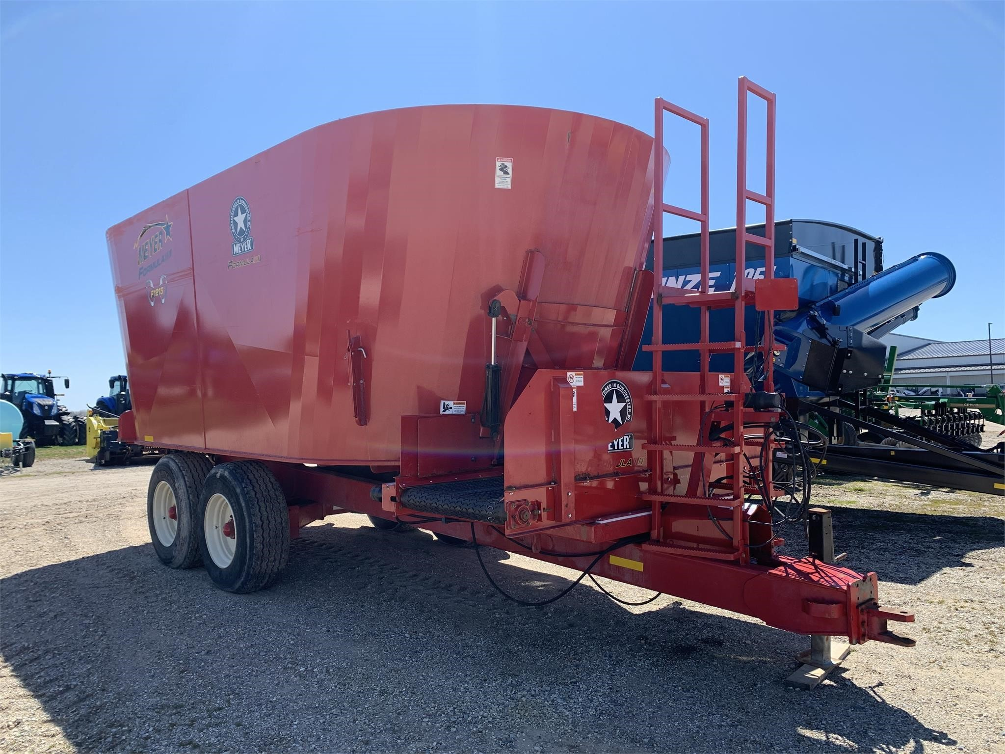 2017 Meyer F1215 Grinders and Mixer