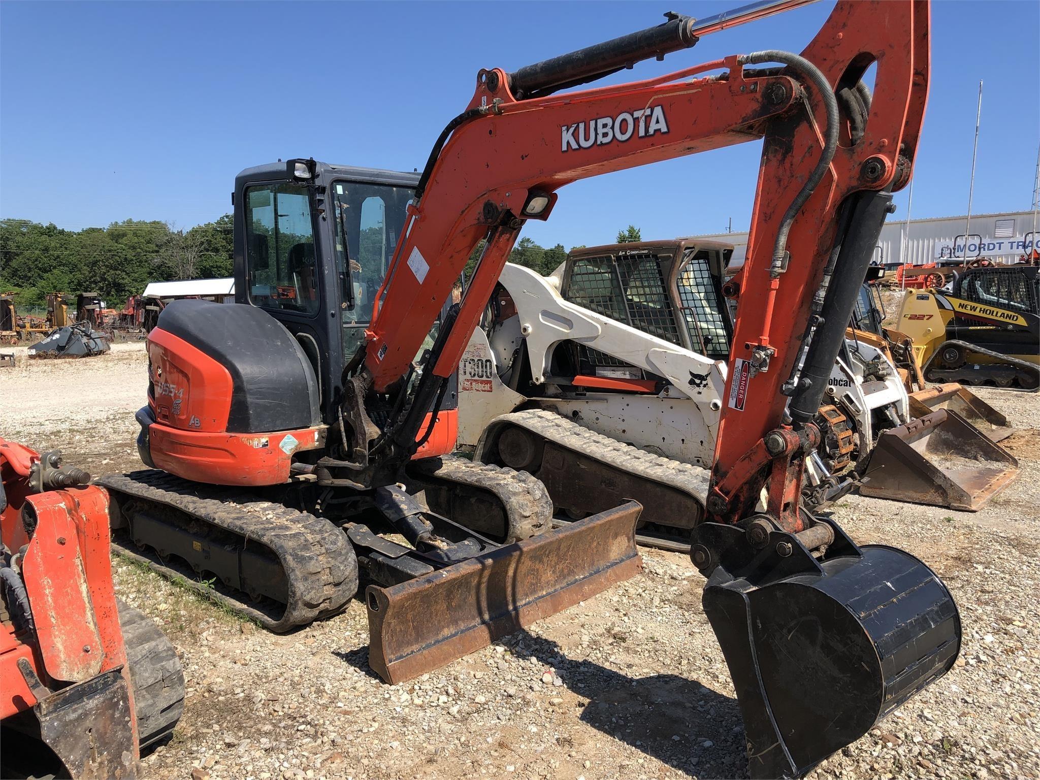 Kubota U55-4 Excavators and Mini Excavator
