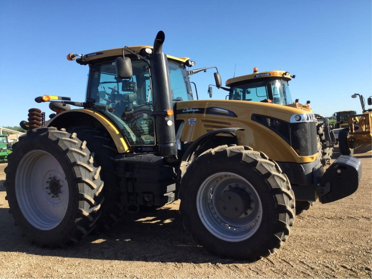 2017 Challenger MT645E Tractor