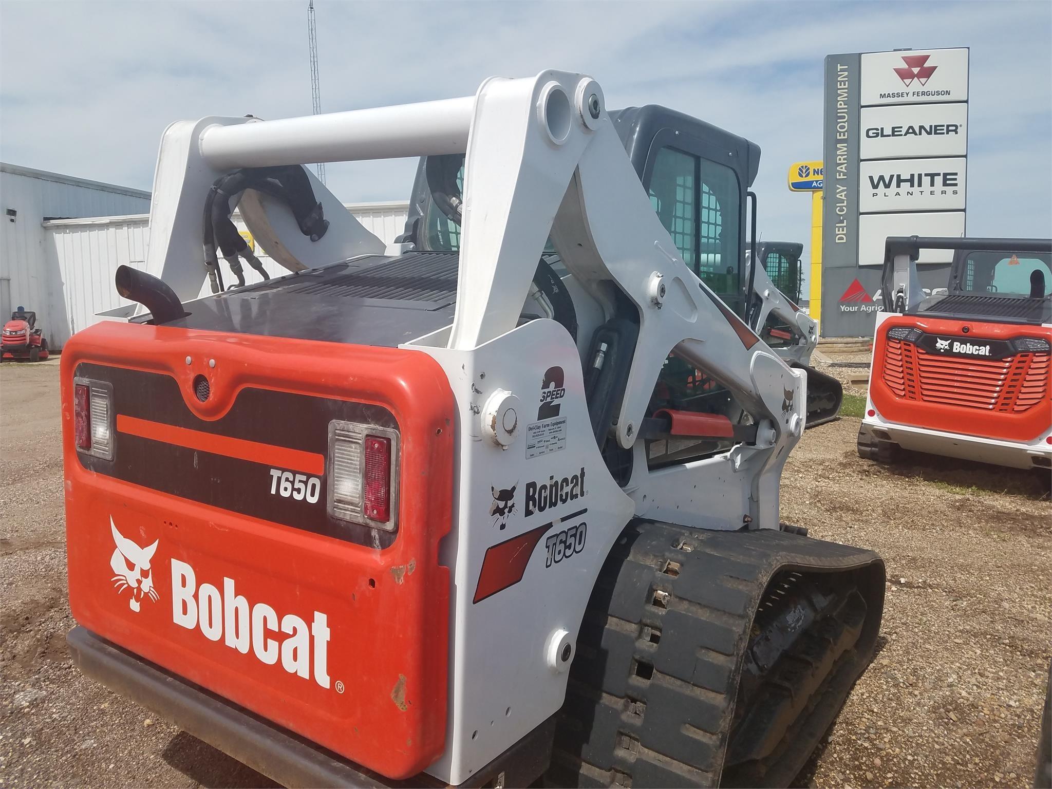 2018 Bobcat T650 Skid Steer