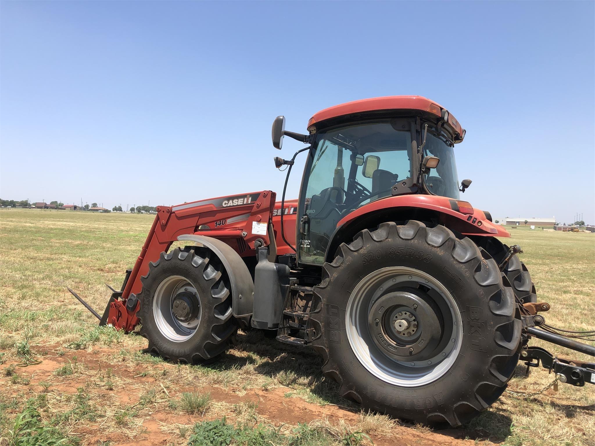 2011 Case IH Maxxum 140 Pro Tractor