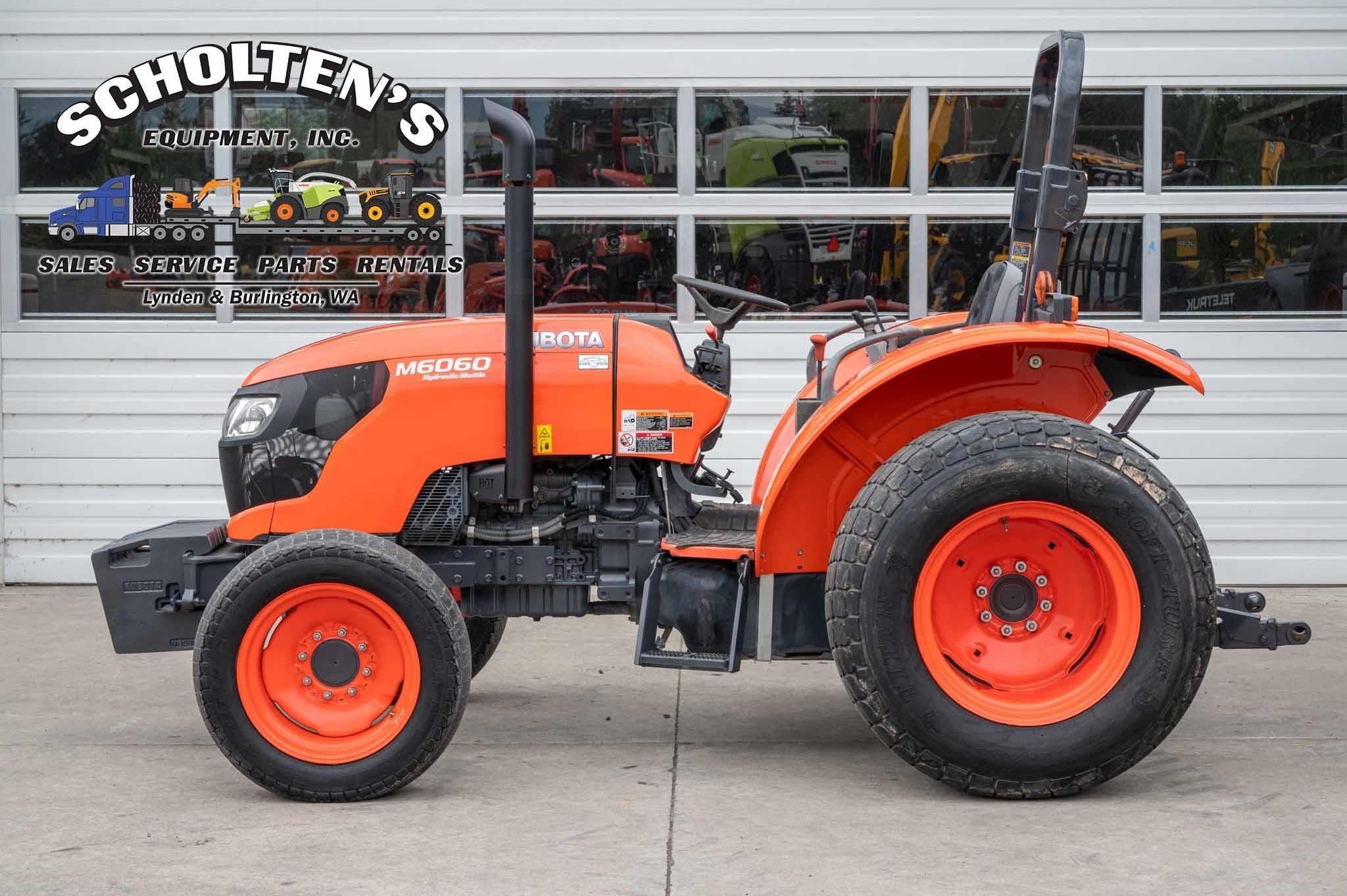 2014 Kubota M6060 Tractor