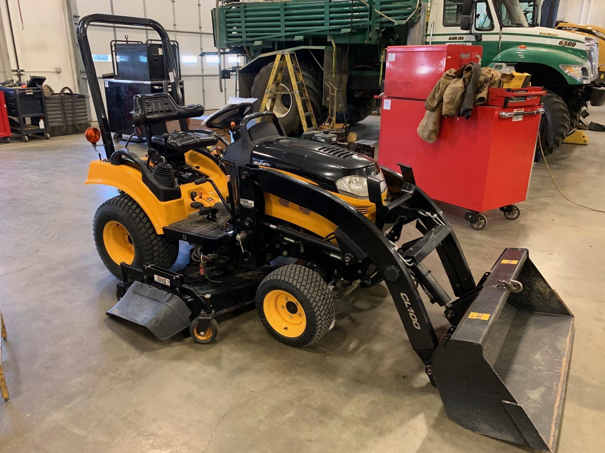 Yanmar SC2400 Tractor