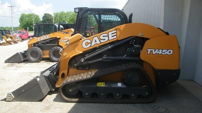 Case TV450 Skid Steer